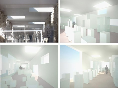 Show Room โชว์รูมชั่วคราวแบบกรีน Green Concept 20 - Green Showroom