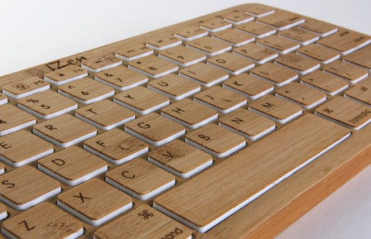 Bamboo Tech iZen 542x350 Bamboo Keyboard