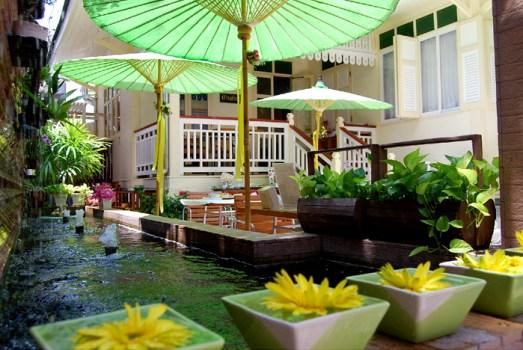 """""""บ้านดินสอ""""โรงแรมเล็กใจกลางพระนคร ภายใต้แนวคิดอนุรักษ์อาคารโบราณของไทย 7 - baandinso"""