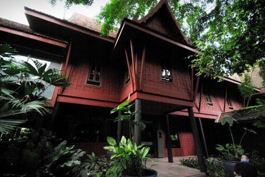 พิพิธภัณฑ์บ้านไทย จิม ทอมป์สัน Jimthompson House 23 - cafe