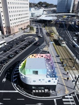 Colorful Police station in Japan 17 - Colorful