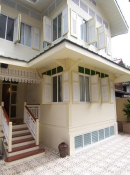 """""""บ้านดินสอ""""โรงแรมเล็กใจกลางพระนคร ภายใต้แนวคิดอนุรักษ์อาคารโบราณของไทย 4 - baandinso"""