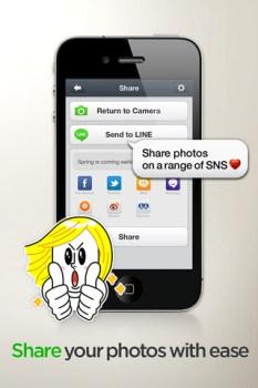 LINE Camera แต่งรูปให้สนุกด้วย icon ของ LINE 7 - Android