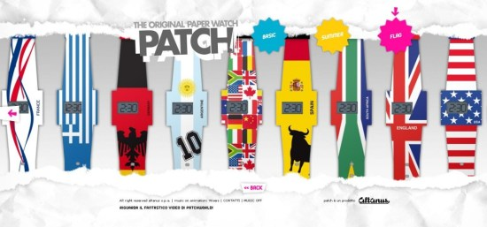 "patch 550x257 Altanus Introduces ""Patch"" นาฬิกาย่อยได้"