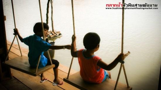 per 07 b 550x309 เที่ยวสนุกทุกวันหยุดได้ที่ ตลาดน้ำหัวหินสามพันนาม Floating market @Huahin