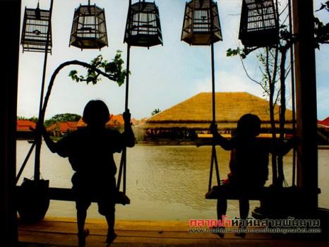 sampannam27 466x350 เที่ยวสนุกทุกวันหยุดได้ที่ ตลาดน้ำหัวหินสามพันนาม Floating market @Huahin