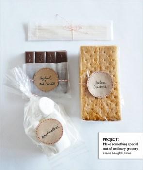 smoresproject 295x350 Last minute gift ideas ไอเดียตกแต่งของขวัญแบบเร่งรีบ!!