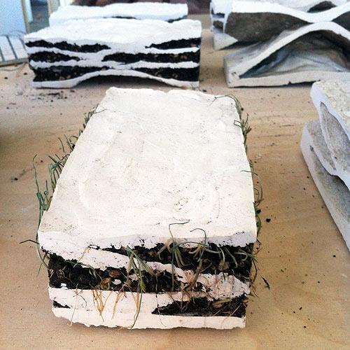 25550515 075158 อิฐบ้านนกกระจอก + ปลูกต้นไม้ งาน handmade ในงาน MILAN DESIGN WEEK
