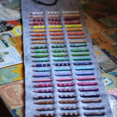 DIY.กล่องดินสอสี ทำเองได้ง่ายๆ 19 - DIY
