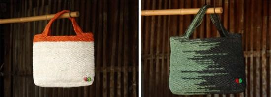 """""""ไทส่อง"""" กระเป๋าถือผลิตจากพลาสติก 19 - thaisongfairtrade"""