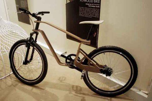 DSC 04271 525x350 Plywood Bike จักรยานไม้ ฝีมือคนไทย