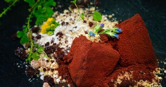 Gaggan Chocolate 550x287 Gaggan Indian Cuisine อาหารอินเดียแบบ Molecular คือการเสิร์ฟอาหารที่ทำให้นักบินอวกาศมาดัดแปลงใหม่