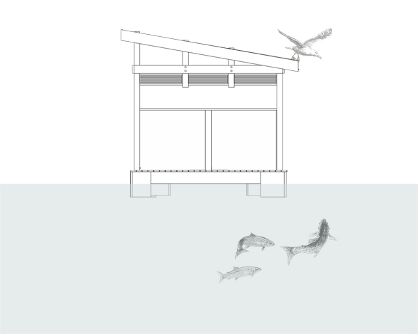 ร้านอาหารหรูลอยน้ำ..จากขวดพลาสติก 27 - school of fishing foundation