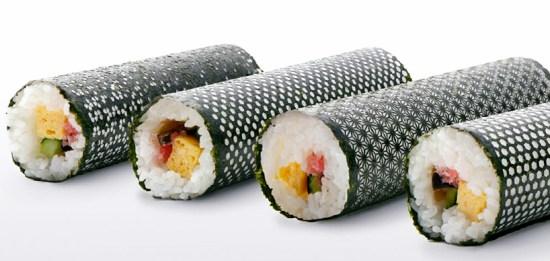 'Design nori' เมื่อสาหร่ายทำซูชิมีลวดลาย 14 - Japan
