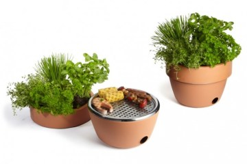 Hot Pot BBQ ที่ปลูกต้นไม้ได้!!