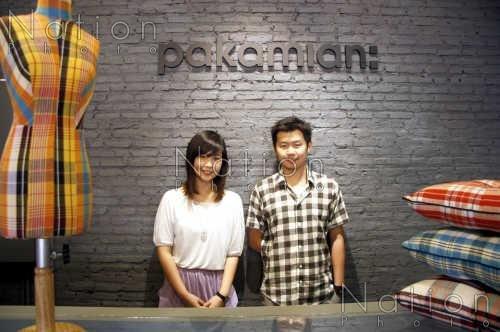 """Pakamian Thailand""พาคาเมี่ยน-ผ้าขาวม้าในเมืองใหญ่ 14 - Pakamian"