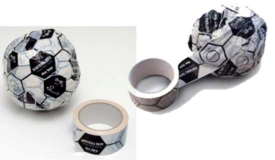 22 550x321 Magis FOOTBALL TAPE DIY FOOTBALLs