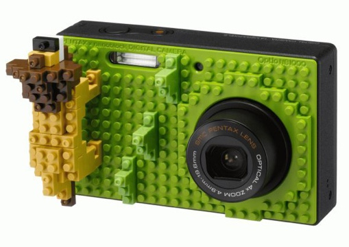 25550617 194110 NB1000 กล้องที่ตกแต่งให้แตกต่างด้วยตัวต่อแบบเลโก้