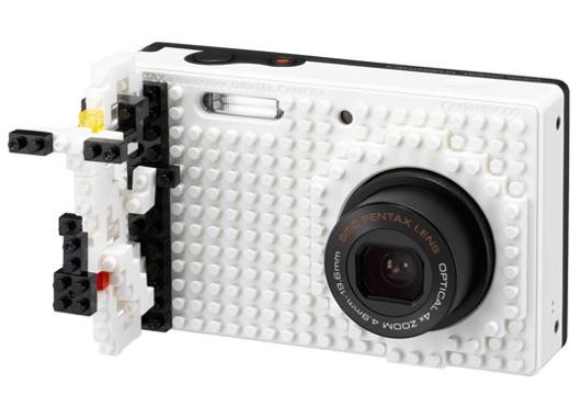 25550617 195253 NB1000 กล้องที่ตกแต่งให้แตกต่างด้วยตัวต่อแบบเลโก้