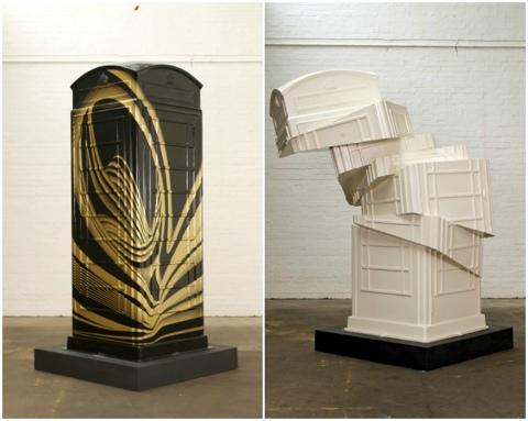 25550620 231024 นิทรรศการงานศิลปะกลางแจ้ง จากตู้โทรศัพท์สาธารณธะของอังกฤษ..นับถอยหลังโอลิมปิค