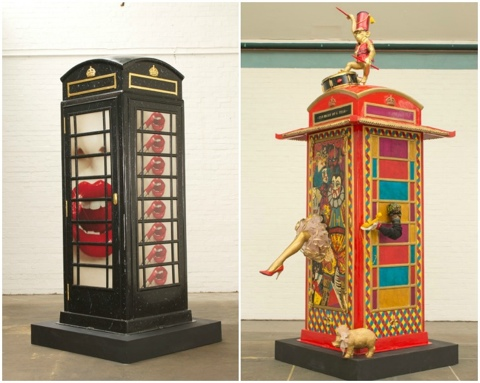 25550620 231029 นิทรรศการงานศิลปะกลางแจ้ง จากตู้โทรศัพท์สาธารณธะของอังกฤษ..นับถอยหลังโอลิมปิค