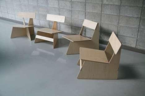 25550622 170659 Four Brothers..เก้าอี้ 4 พี่น้อง...เก้าอี้ที่เป็นมิตรกับสิ่งแวดล้อม