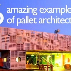 เมื่อ Pallet ไม้เก่า กลายเป็นสิ่งปลูกสร้างสุดอัศจรรย์ 14 - pallet