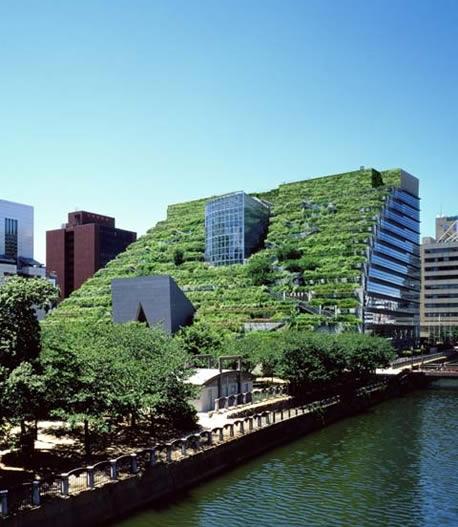 25550623 094141 ตึกเขียวในฟูกูโอกะ