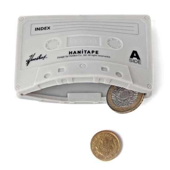 25550623 095252 กระเป๋าสตางค์ทำจากยางซิลิโคน แนว Retro ..รูปทรง cassette tape