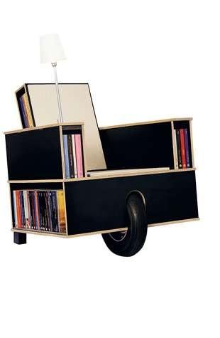 เก้าอี้ที่เก็บหนังสือ ..แถมติดล้อเคลื่อนย้ายสะดวก 13 - Easy Reader