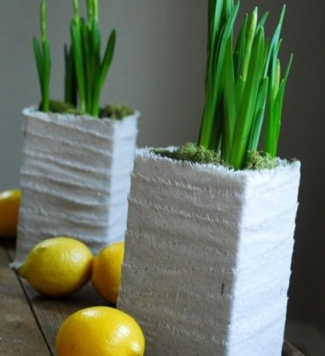 DIYทำกระถางปลูกต้นไม้ จากกล่องนมใช้แล้ว 17 - GREENERY