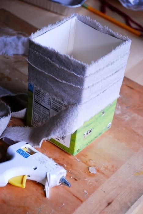 25550625 175855 DIYทำกระถางปลูกต้นไม้ จากกล่องนมใช้แล้ว