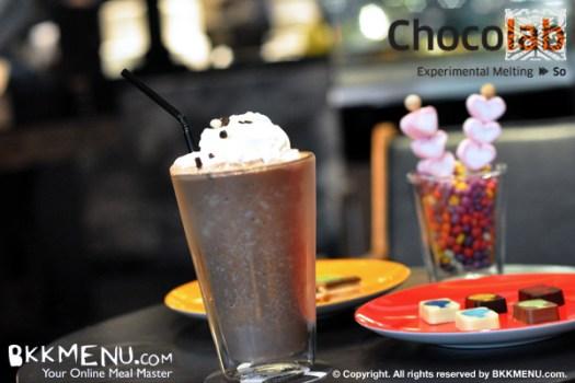 ร้าน Chocolab ที่โรงแรม Sofitel So Bangkok ถนนสาทร 17 -