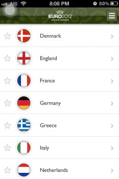 UEFA EURO 2012 App ที่ทำให้ใกล้ชิดเกาะติดการแข่งขัน Euro2012 นี้ 15 - Android