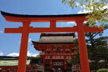 Trip to Fushimi Inari Shrine - One thousand red gates 5 - Kyoto