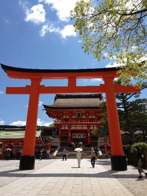 Trip to Fushimi Inari Shrine - One thousand red gates 14 - Kyoto