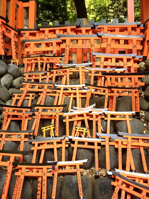 Trip to Fushimi Inari Shrine - One thousand red gates 18 - Kyoto