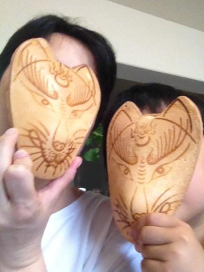 Fox mask crackers for souvenir