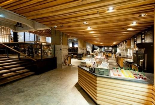 Starbucks Amsterdam 2 518x350 New Starbucks Concept Store: Starbucks โฉมใหม่