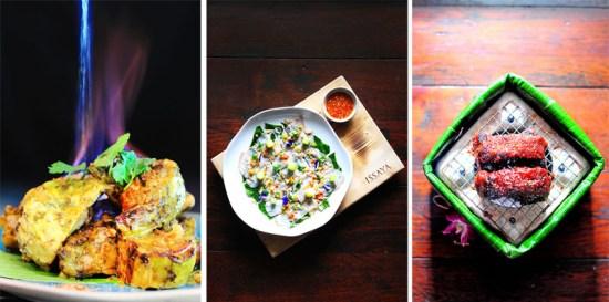 a15 550x273 Issaya Siam Club อาหารไทยโบราณที่เสิร์ฟมาในรูปลักษณ์และการตกแต่งแนวใหม่