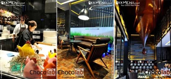 ร้าน Chocolab ที่โรงแรม Sofitel So Bangkok ถนนสาทร 19 -