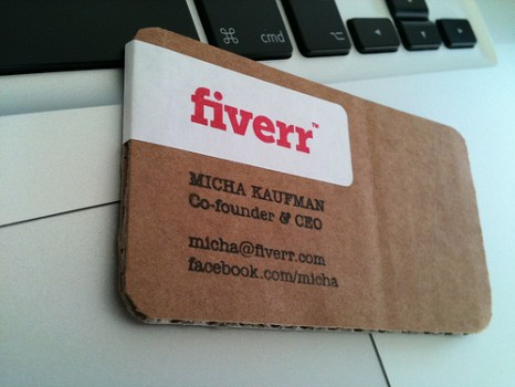 fiverr 466x350 idea eco friendly name card
