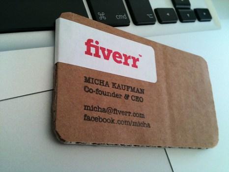 fiverr 466x350 idea eco friendly name card