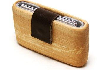 WOODWALLET กล่องเก็บนามบัตรทำจากไม้ 14 - case