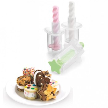 Mini Ice Cream Sandwich Maker ทำแซนวิชไอศกรีมง่ายๆที่บ้าน 14 - Cookie