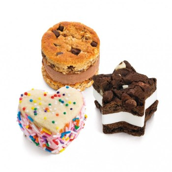 Mini Ice Cream Sandwich Maker ทำแซนวิชไอศกรีมง่ายๆที่บ้าน 20 - Cookie
