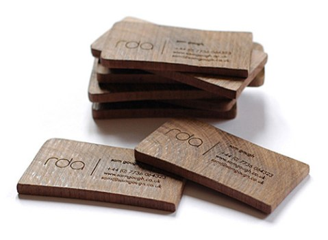 idea eco-friendly name card 20 - Business Card