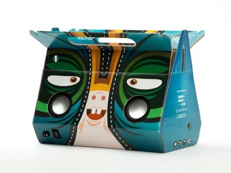 Eco-friendly sound packaging ลำโพงกระดาษ 18 - eco-friendly