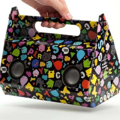 Eco-friendly sound packaging ลำโพงกระดาษ 16 - eco-friendly