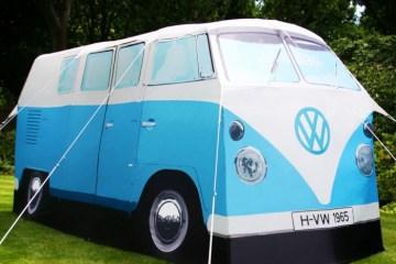 Volkswagen Van Tent เต๊นท์นี้นอนได้ถึง 4 คน!! 15 - Car